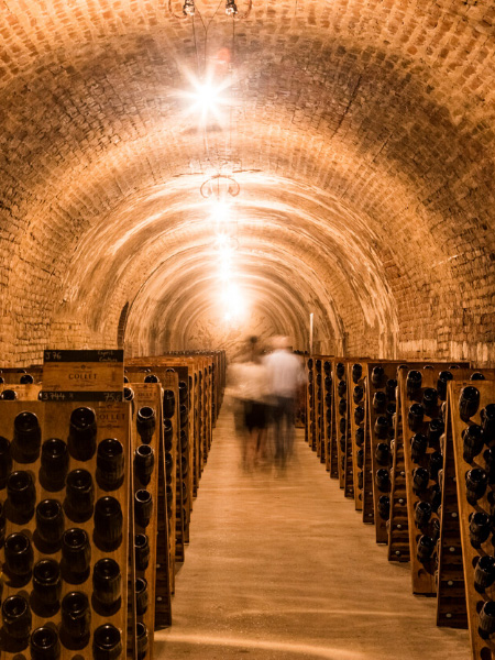 Cellar visits in complete safety